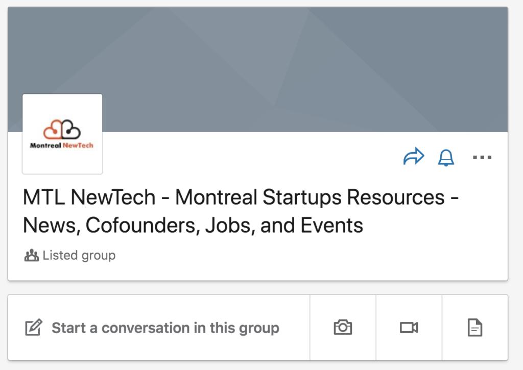 LinkedIn - MTL New Tech